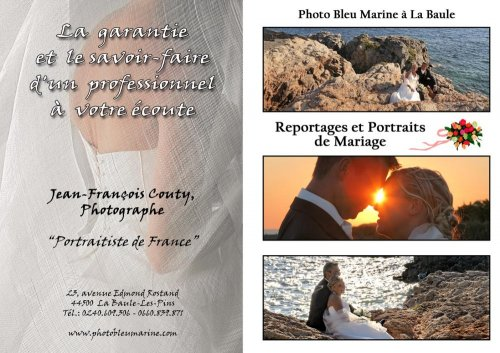 Photographe mariage - JF Couty Photographe - photo 1
