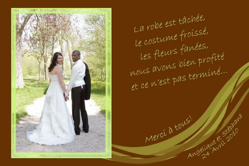 Photographe mariage - Passion Photo - photo 23