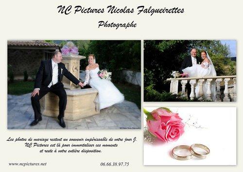 Photographe mariage - Année - photo 1