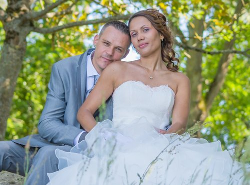 Photographe mariage - sourire au naturel - photo 8