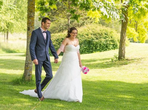 Photographe mariage - sourire au naturel - photo 9
