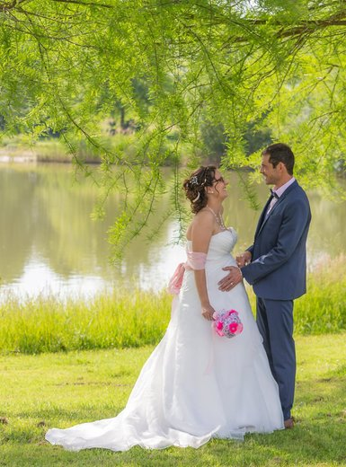 Photographe mariage - sourire au naturel - photo 15