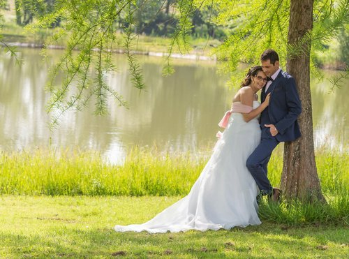 Photographe mariage - sourire au naturel - photo 22