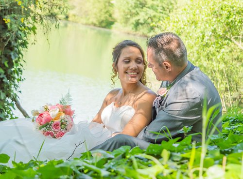 Photographe mariage - sourire au naturel - photo 10