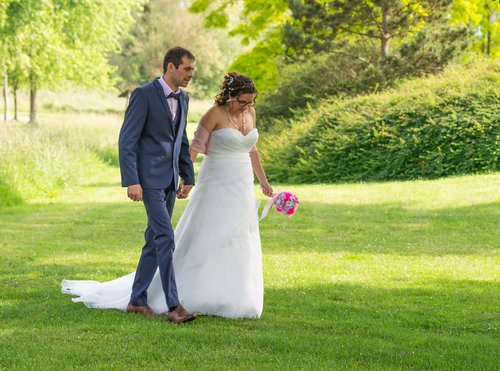 Photographe mariage - sourire au naturel - photo 13