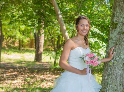 Photographe mariage - sourire au naturel - photo 11