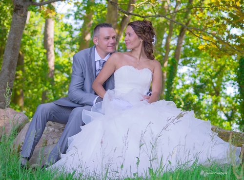 Photographe mariage - sourire au naturel - photo 1