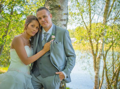 Photographe mariage - sourire au naturel - photo 7