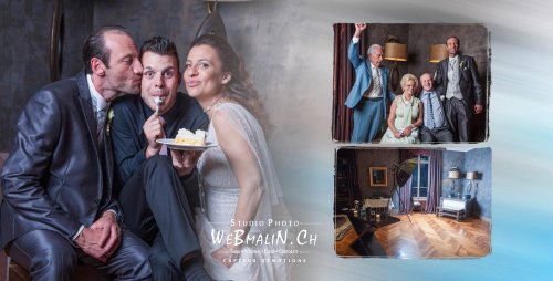 Photographe mariage - WeBmaliN Photographe Evian - photo 1
