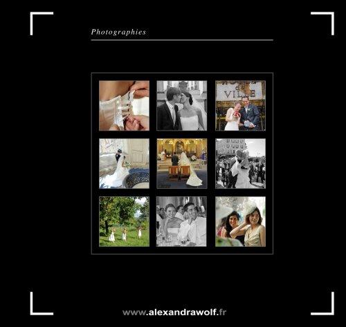 Photographe mariage - ALEXANDRA WOLF PHOTOGRAPHIE - photo 1