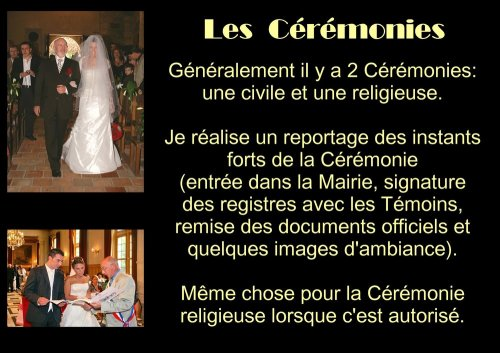 Photographe mariage - Michel Rebillard Photographe - photo 3
