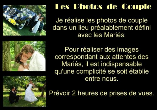 Photographe mariage - Michel Rebillard Photographe - photo 2