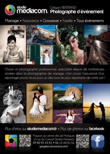 Photographe mariage - Société Studio Mediacom - photo 1
