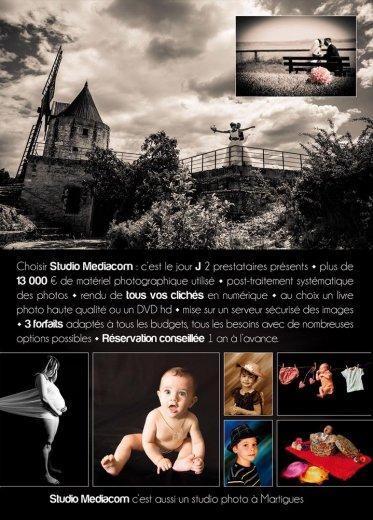 Photographe mariage - Société Studio Mediacom - photo 2