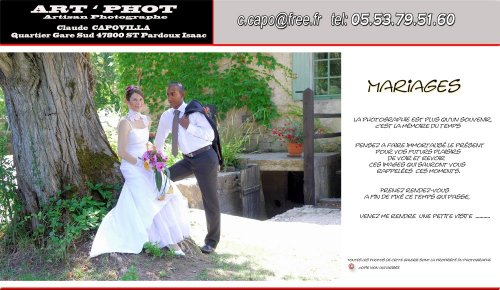 Photographe mariage - Capovilla Claude  - photo 1