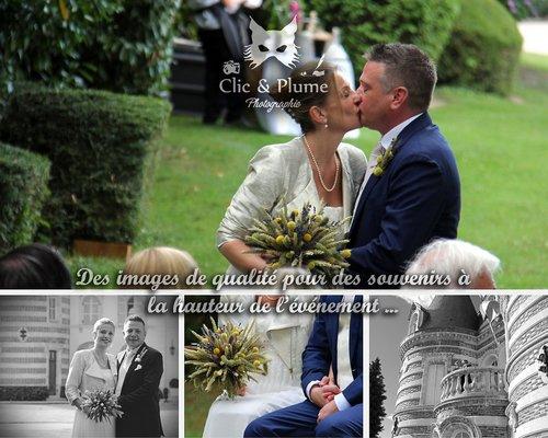 Photographe mariage - Clic & Plume - Carine CHARLIER - photo 5