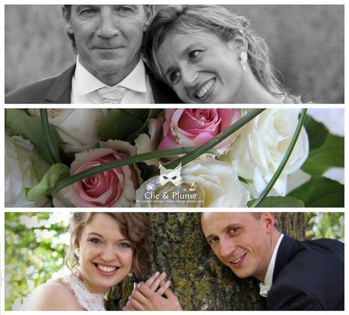 Photographe mariage - Clic & Plume - Carine CHARLIER - photo 12