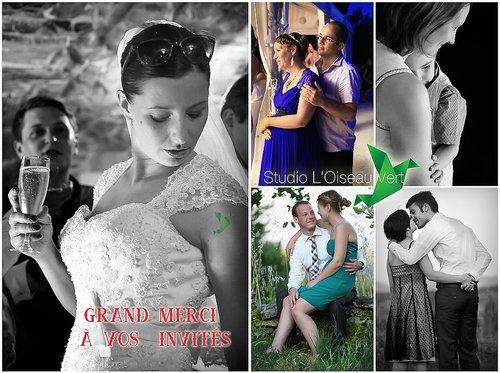 Photographe mariage - Studio L' Oiseau Vert - photo 92