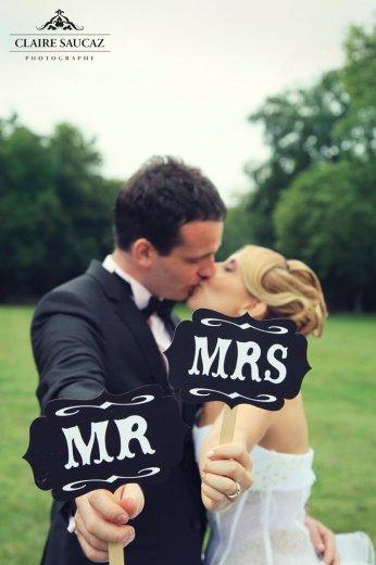 Photographe mariage - Claire Saucaz - photo 10