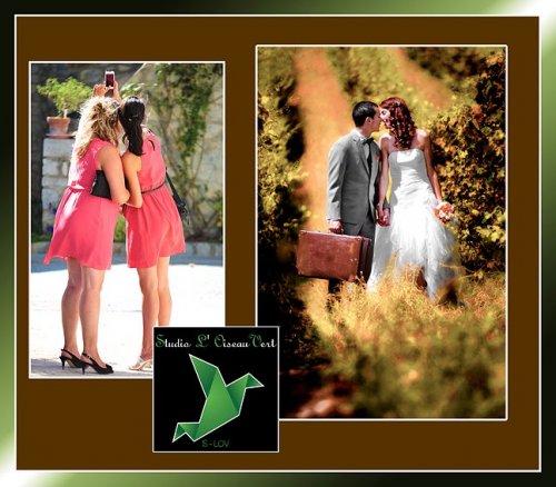 Photographe mariage - Studio L' Oiseau Vert - photo 7