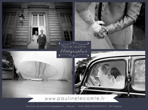 Photographe mariage - Pauline Lecomte Photographies - photo 3