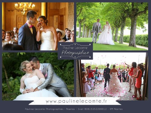 Photographe mariage - Pauline Lecomte Photographies - photo 2