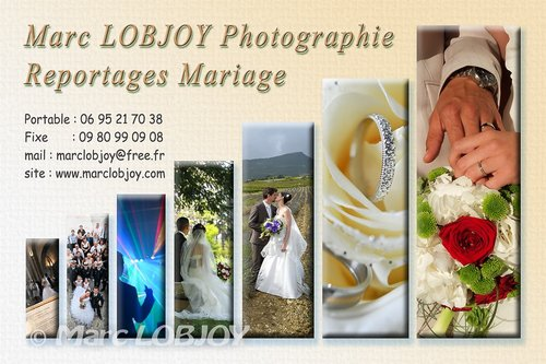 Photographe mariage - Marc LOBJOY Photographie - photo 1