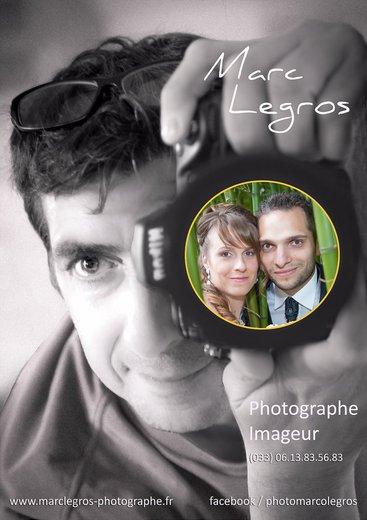 Photographe mariage - marc Legros - photo 1