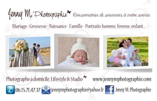 Photographe mariage - Jenny M. Photographie  - photo 1