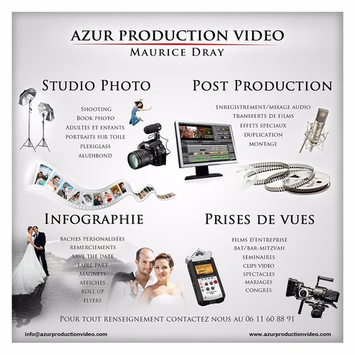 Photographe mariage - AZUR PRODUCTION VIDEO - photo 78