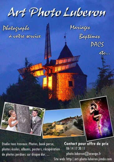 Photographe mariage - ART PHOTO LUBERON et PACA - photo 1
