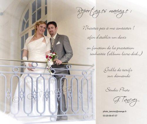 Photographe mariage - Gérard  Tancrez Photographe - photo 1