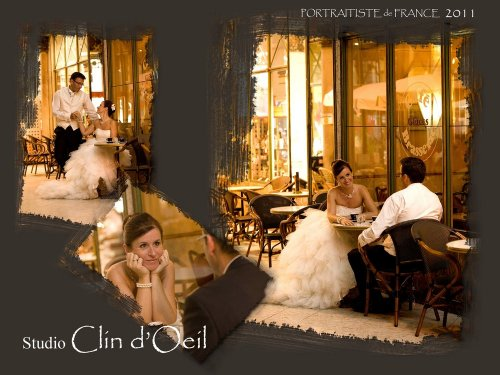 Photographe mariage - Studio CLIN D'OEIL - photo 1