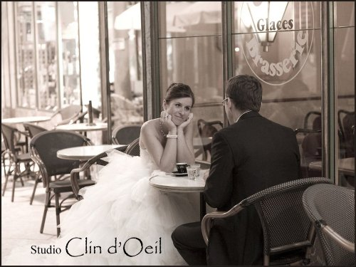 Photographe mariage - Studio CLIN D'OEIL - photo 3