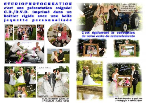 Photographe mariage - STUDIOPHOTOCREATION - photo 25