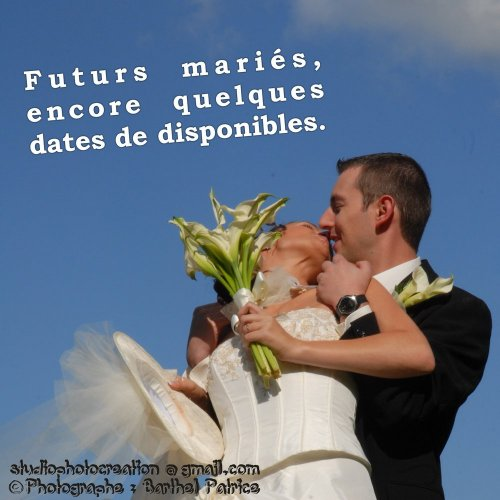 Photographe mariage - STUDIOPHOTOCREATION - photo 27