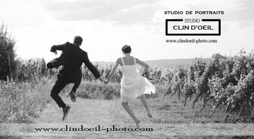 Photographe mariage - Studio CLIN D'OEIL - photo 44